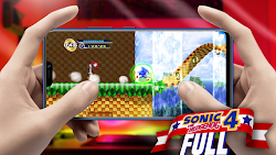 Sonic 4™ Episode I (Full) v1.5.0 Para Teléfonos Android [Apk]