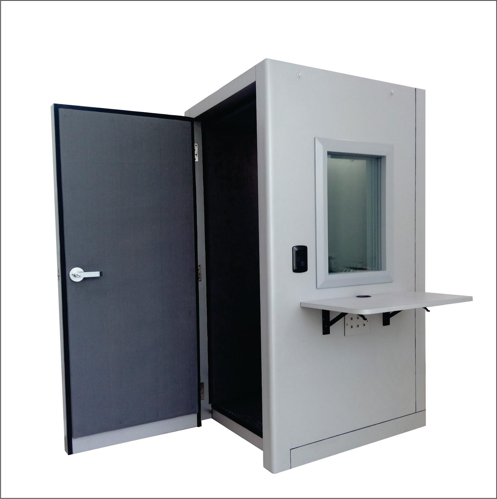 Cabinas audiometricas for Cabina con avvolgente portico