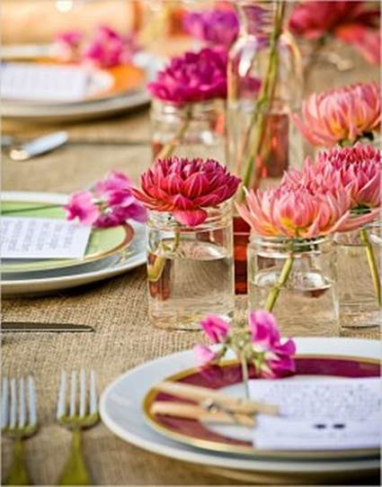 Outdoor Party Spring Tables Decoration For Adults 3