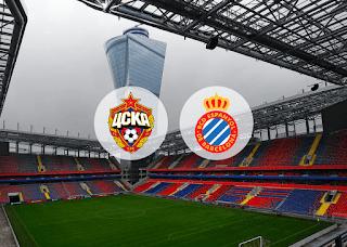 ЦСКА – Эспаньол смотреть онлайн бесплатно 3 октября 2019 прямая трансляция в 19:55 МСК.