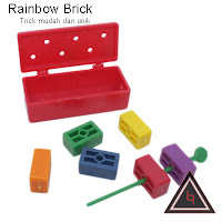 Jual alat sulap Rainbow Bricks