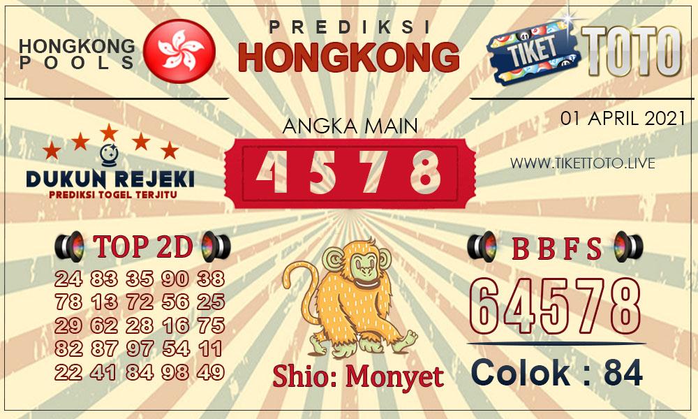 Prediksi Togel HONGKONG TIKETTOTO 01 APRIL 2021