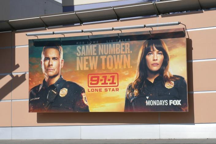 911 Lone Star season 1 billboard