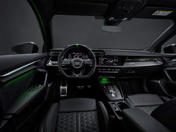 Audi RS3 Sedan: 8 seg mais rápido que Mercedes A45 AMG S em Nürburgring