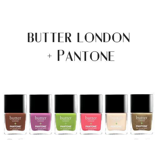 Butter London, Pantone