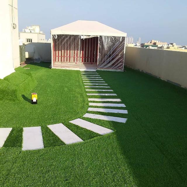 تصميم حدائق واسطح منازل بالباحة