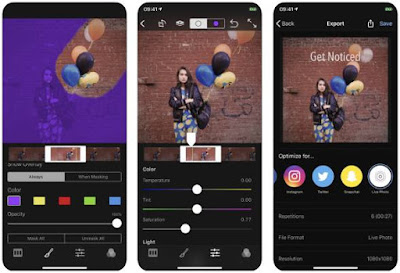 Aplikasi Foto Bergerak iPhone - Flixel Cinemagraph Pro