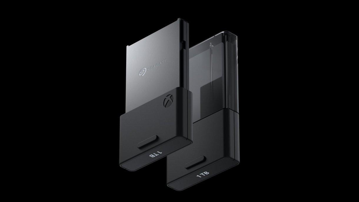 Seagate External SSD Card