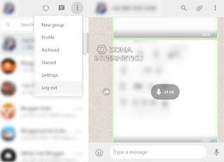 Log Out Secara Langsung Dari Whatsapp Web Di PC Tanpa Menghapus Akun