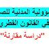 """المسؤولية المدنية للصحفي في القانون القطري  """"دراسة مقارنة""""."""