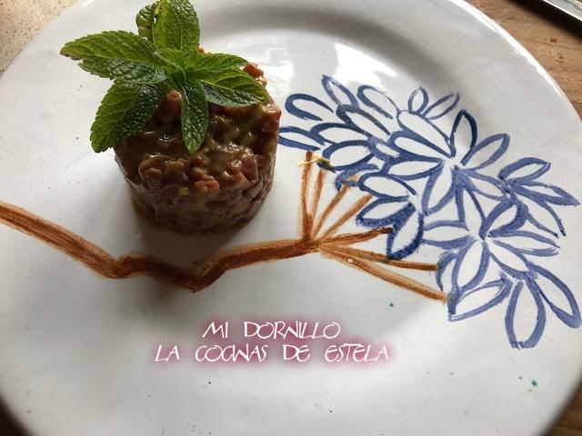 Mi dornillo la cocina de estela tartar de salchich n de for Mi cocina malaga
