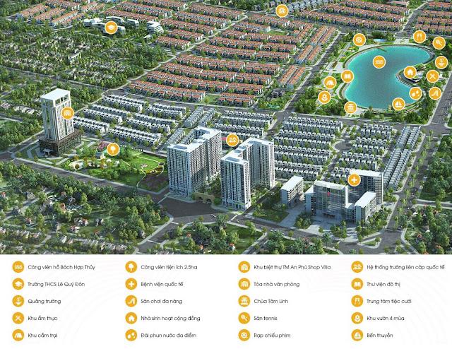 Quy hoạch chung cư Anland Premium