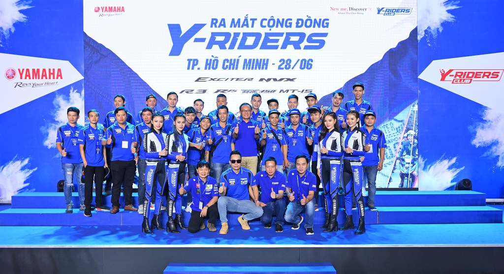 Y-Riders quy tụ 300 CLB, hơn 5.000 thành viên sau gần một tuần ra mắt