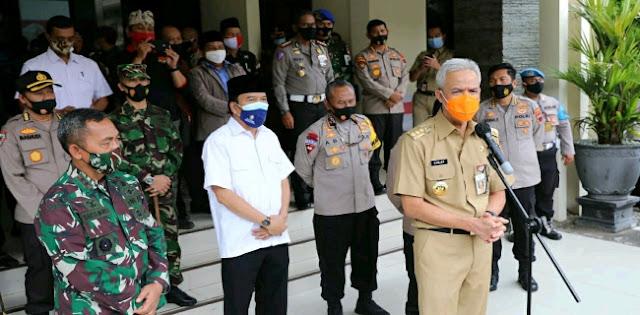 Ditetapkan Ganjar Pranowo, UMK Tertinggi Di Jateng Diraih Kota Semarang