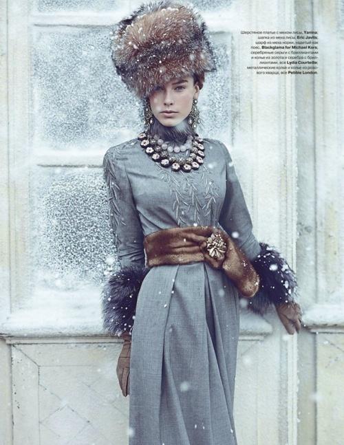 The Russian Store: Russian Fur Hat Fashion