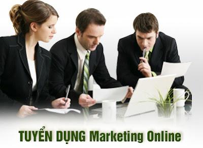 Nhân sự Marketing Online