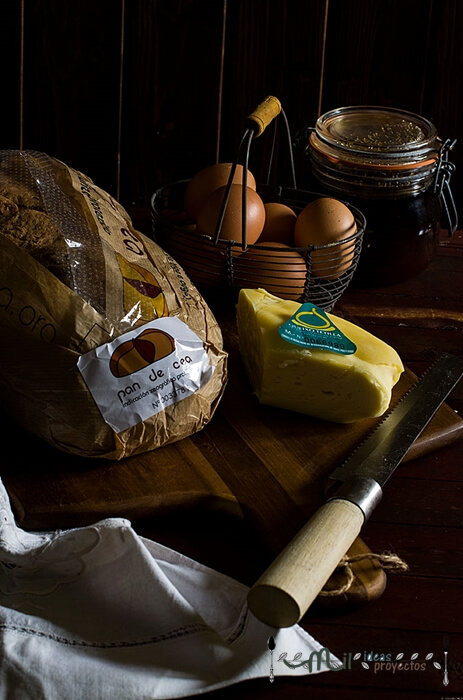 elaboración torrijas cremosas de queso