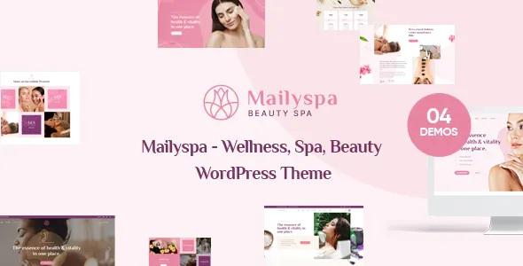 Best Beauty & Wellness WordPress Theme