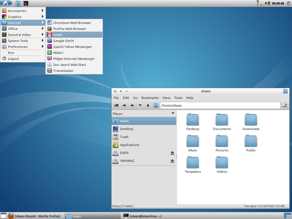 NAMAKU TUX : Linux Desktop, Everyday    : Review Of Lubuntu