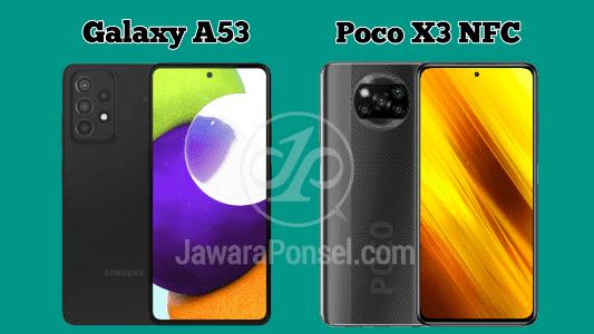 Spesifikasi Samsung Galaxy A52 vs Poco X3 NFC