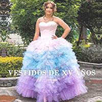 vestidos de quincenera