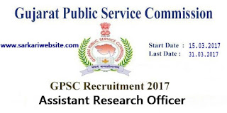 Assistant Research Officer