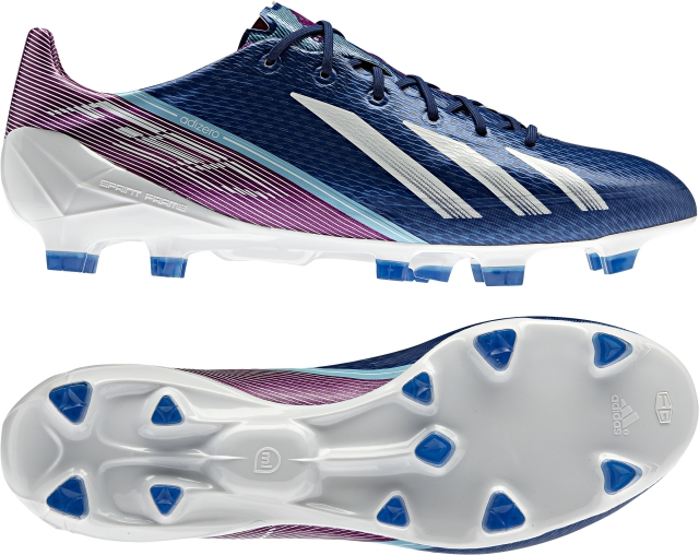 faa840dcab2b The new adizero f50 features Adidas  famous Sprintskin – a 1.5mm thick  synthetic layer that allows the boot to be lightweight (165g)