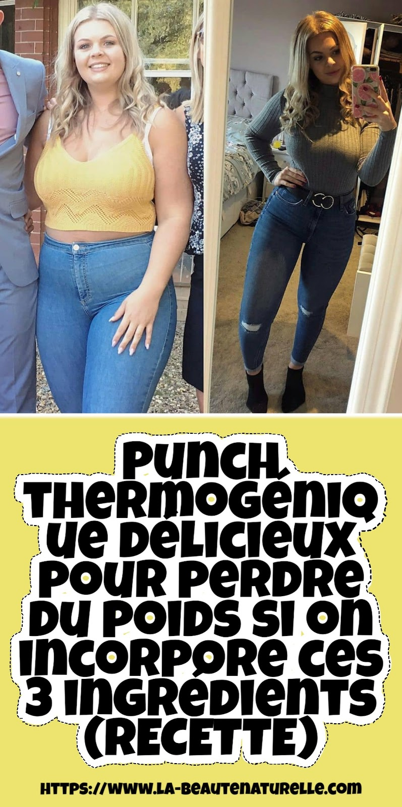 Punch thermogénique délicieux pour perdre du poids si on incorpore ces 3 ingrédients (RECETTE)