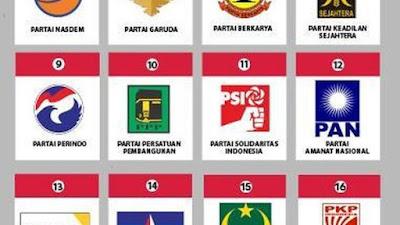 Top 3 Parpol di Survei CISA: PDIP-Demokrat-Golkar