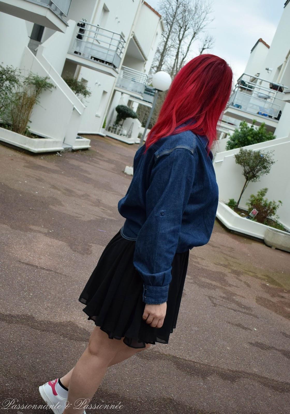 Mes cheveux rouges