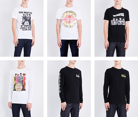 "Collection capsule spéciale Beatles en vente chez Selfridges<span class=""fine"">&nbsp;</span><span style=""font-family: &quot;helvetica neue&quot; , &quot;helvetica&quot; , sans-serif;"">&amp;</span><span class=""fine"">&nbsp;</span>Co"