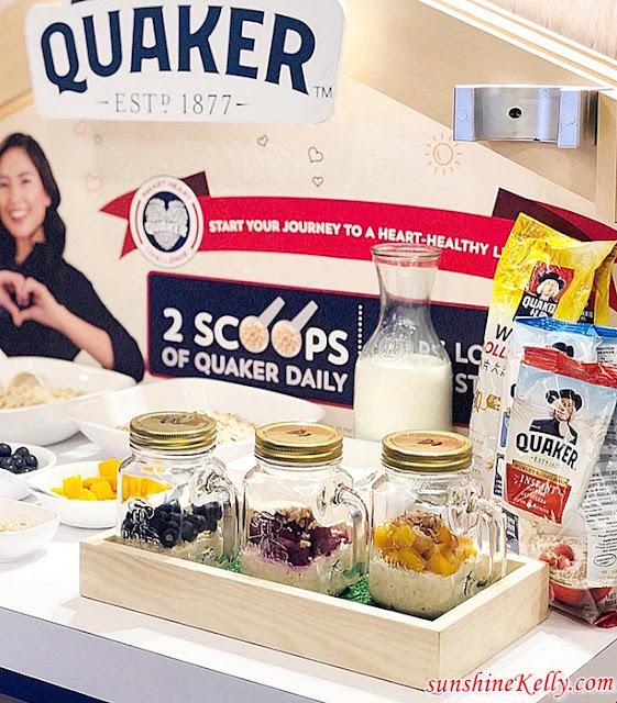Quaker, Quaker Oats, Oats, Heart-Healthy Lifestyle, Quaker Smart Heart Challenge, Quaker Malaysia