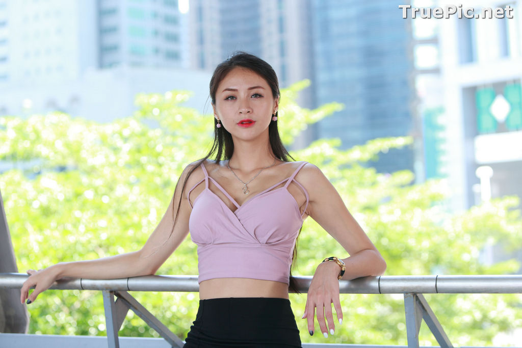 Image Taiwanese Model – Lola (雪岑) - Charming and Attractive Long Legs Girl - TruePic.net - Picture-3