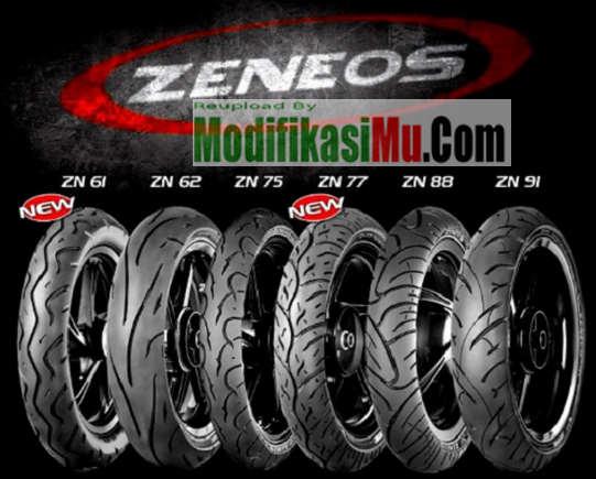 Update Daftar Harga Ban Zeneos TubeLess Turino Matic ZN62 ZN91 Terbaru Berbagai Ukuran 150 60 Untuk Semua Tipe Motor