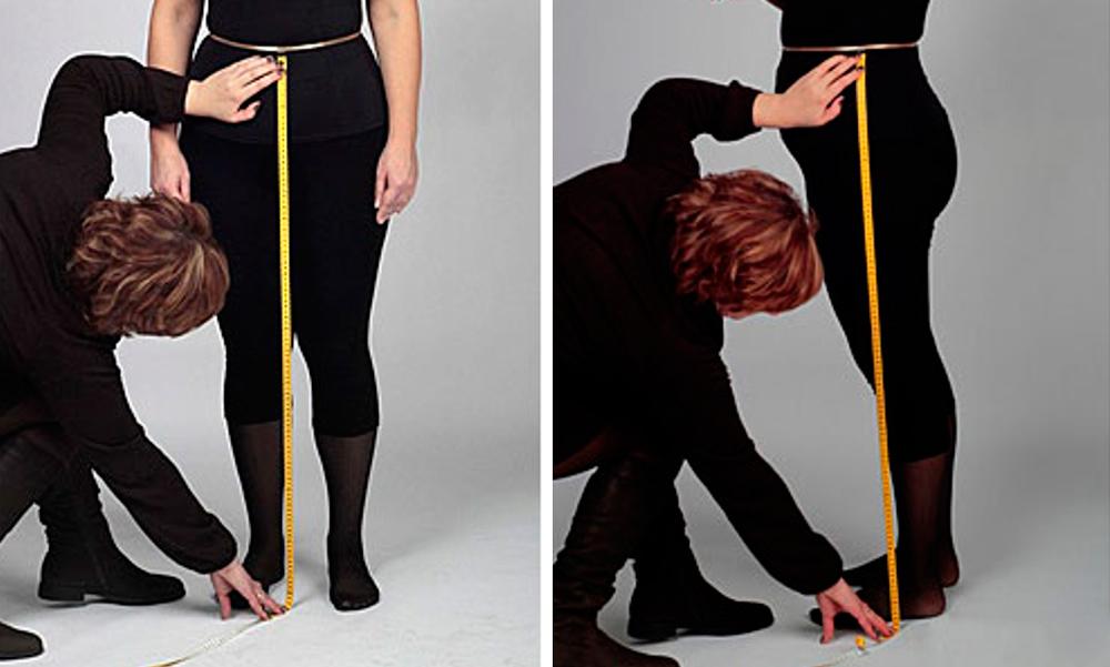 Как снять мерки с женской фигуры