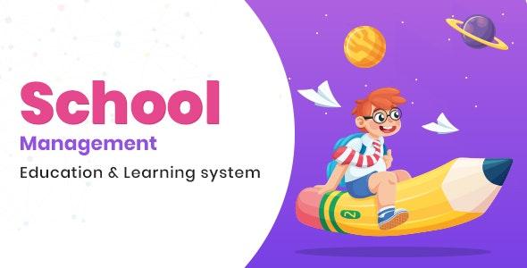 School Management v8.0 - Education / Learning Management system for WordPress