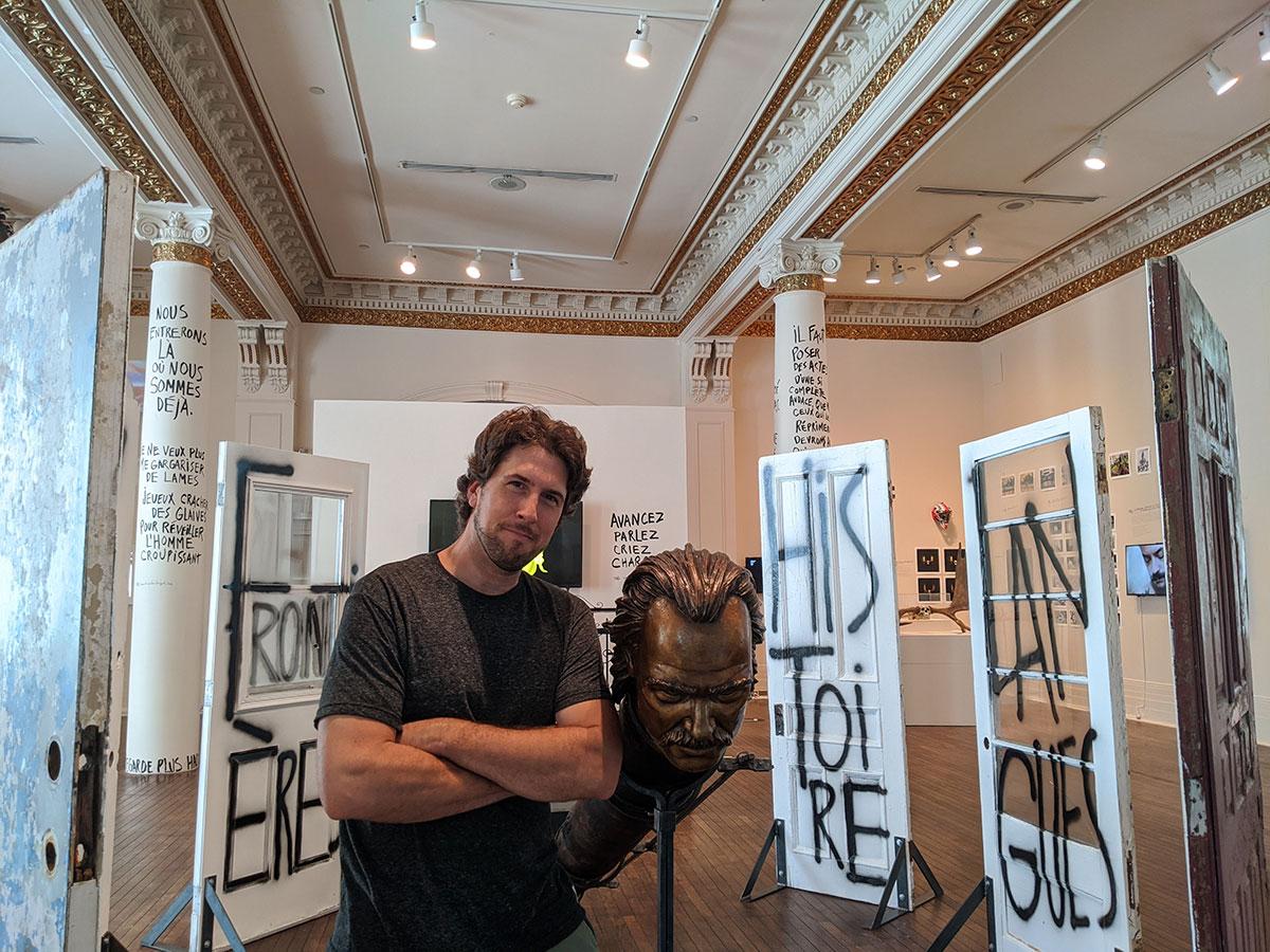 David Goudreault au Musée des beaux-arts de Sherbrooke
