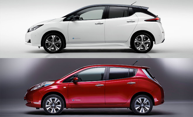 2018 Nissan Leaf facelift