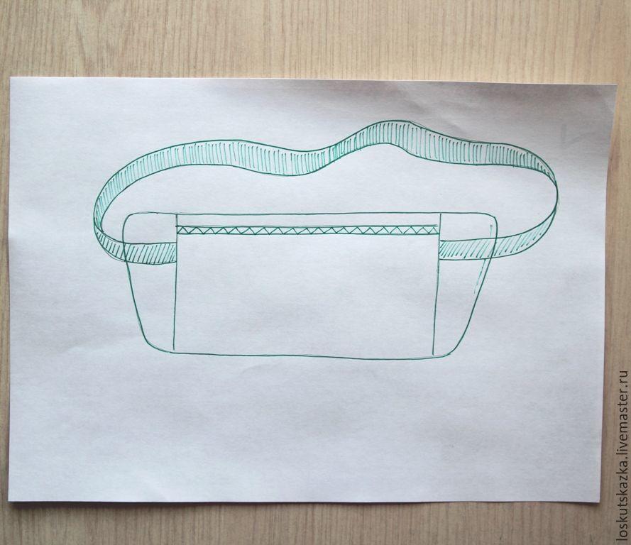 Travel Money Belt Bag: Free Sewing Pattern