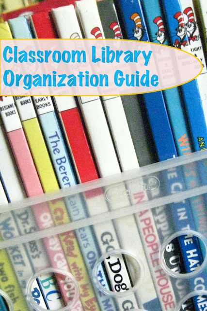 Guide to Classroom Library Organization