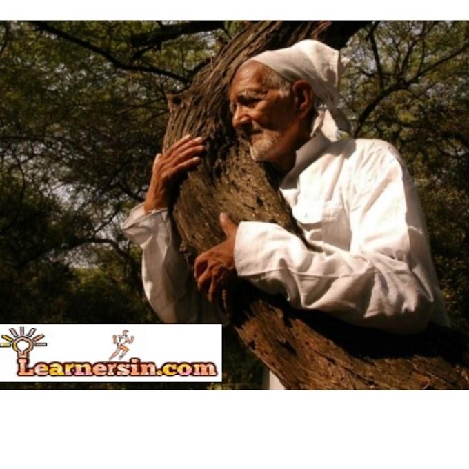 Environmentalist Sunderlal Bahuguna passed away