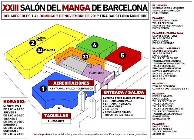 Importantes novedades en el XXIII Salón del Manga de Barcelona