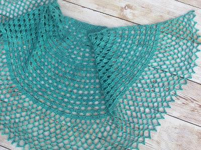 Daphne Crochet Shawl by Jen Lucas