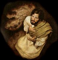 Resultado de imagen para Jesús orante, en contacto con el Padre.