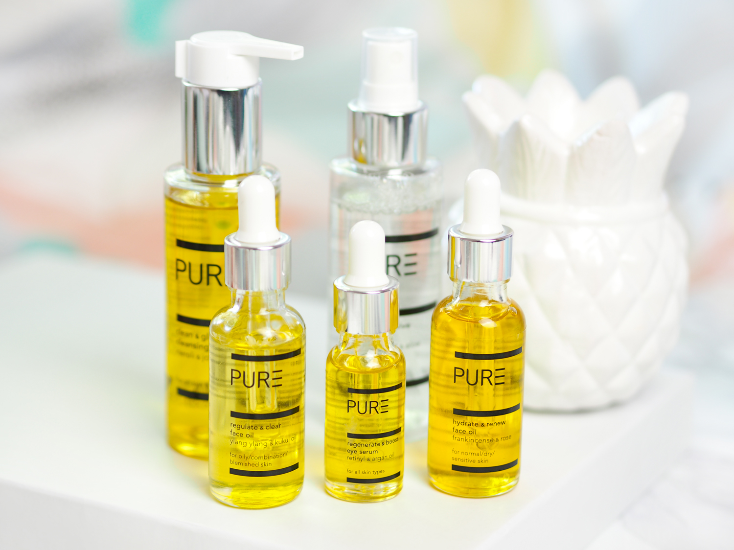 PURE Spa & Beauty Skincare Range