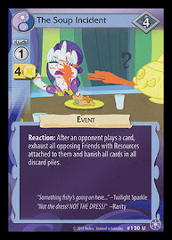 My Little Pony The Soup Incident The Crystal Games CCG Card