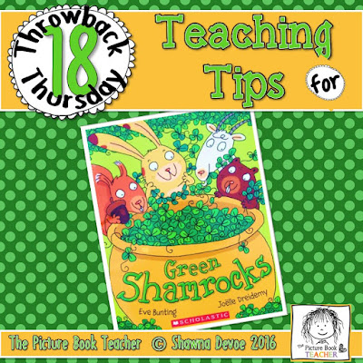 Green Shamrocks Teaching Tips - TBT