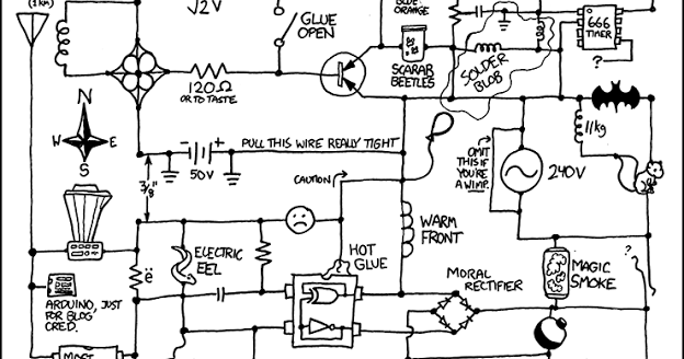 Vic's Tech Blog: Circuit Diagram Pun