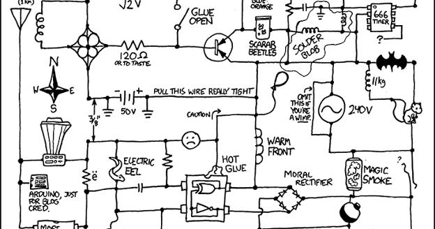 Vic's Tech Blog: Circuit Diagram Pun