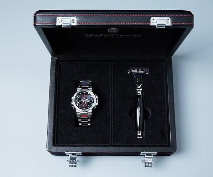Truefitt & Hill x G-Shock MTG-B1000D-1APRT Gift Box Dari China